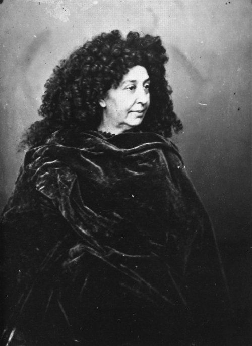 "George Sand ..""I'm beginning to believe that there are angels disguised as men who pass themselves off as such and who inhabit the earth for a while to console and lift up with them toward heaven the poor, exhausted and saddened souls who were ready to perish here below.""  A Biography http://turnofthecentury.tumblr.com/post/7123801386/i12bent-born-on-the-1st-of-july-french"
