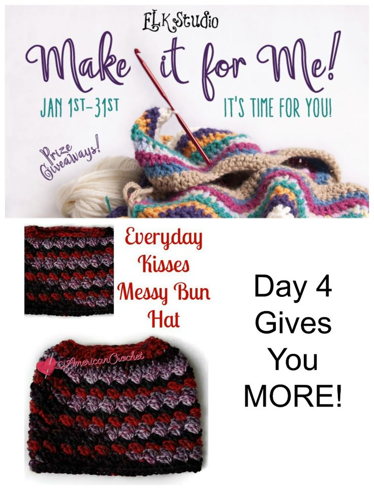 Are you ready for Day 4 of the MIFM event?  It's another great FREE Crochet pattern!