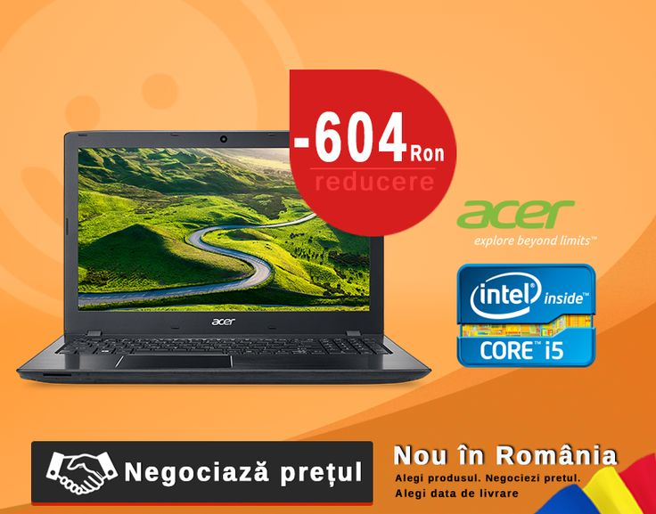 Nu rata oferta. Stocul este limitat.Laptop Acer i5 la un pret incredibil #laptops #notebook #i5 #oferteunice #romania