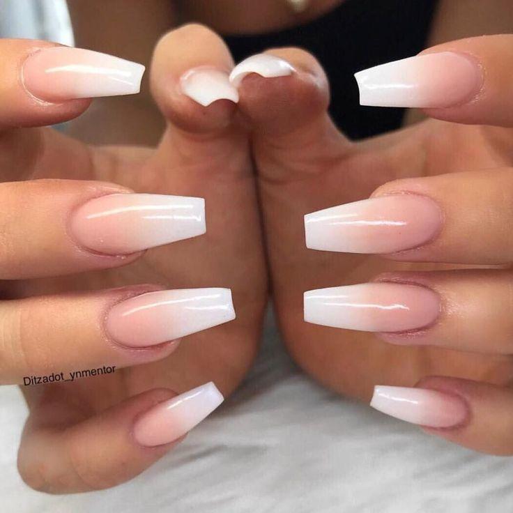 """25 + › Young Nails Inc auf Instagram: """"Ombres sind viel hübscher als französische Nägel. Agr …"""