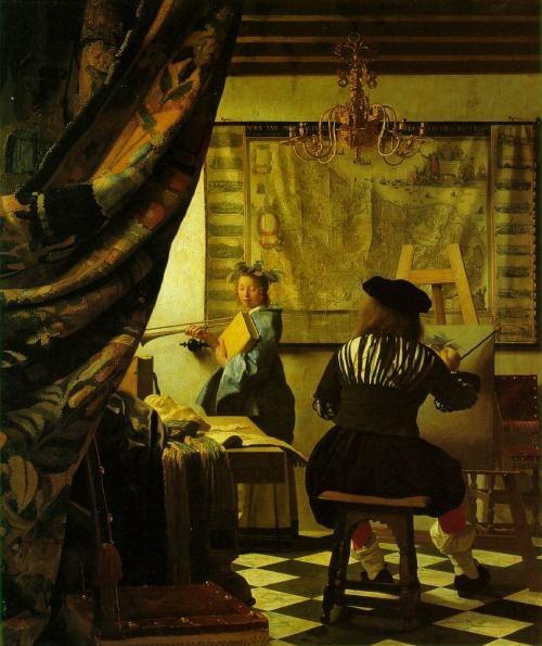 Foldaway Tote - The Concert Vermeer by VIDA VIDA XBkmBj7oSZ