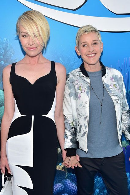 EXCLUSIVE: Ellen DeGeneres Jokes About Why She Doesn't Do Her 'Finding Dory' Voice for Portia de Rossi