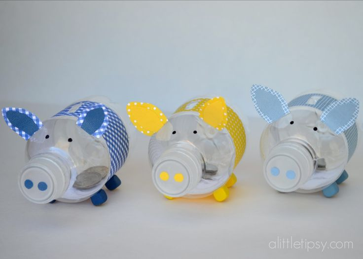 43 best images about diy projects on pinterest insulated for Make a piggy bank craft