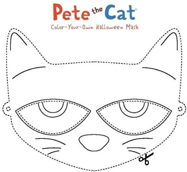 372 best pete the cat images on pinterest pete the cats book pete the cat mask pronofoot35fo Gallery