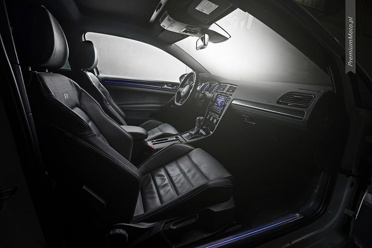 Interior of the new Volkswagen Golf R (MK VII) with Nappa Carbon Leather. #volkswagen #golfR #interior