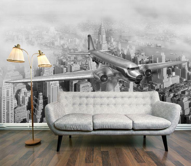Woonkamer inrichten: een uniek interieur met fotobehang
