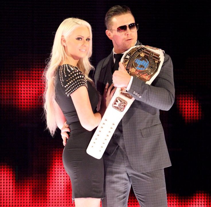 Former IC Champ The Miz with Maryse