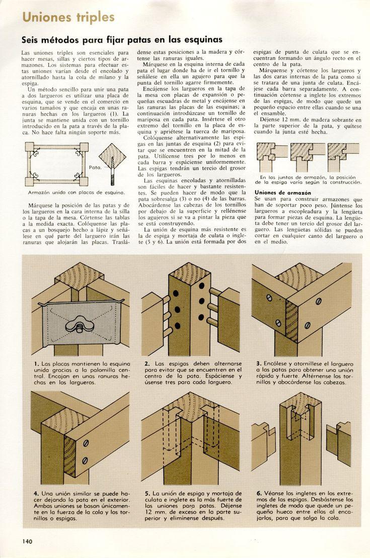 M s de 25 ideas incre bles sobre sillas de madera en for Planos silla ergonomica pdf