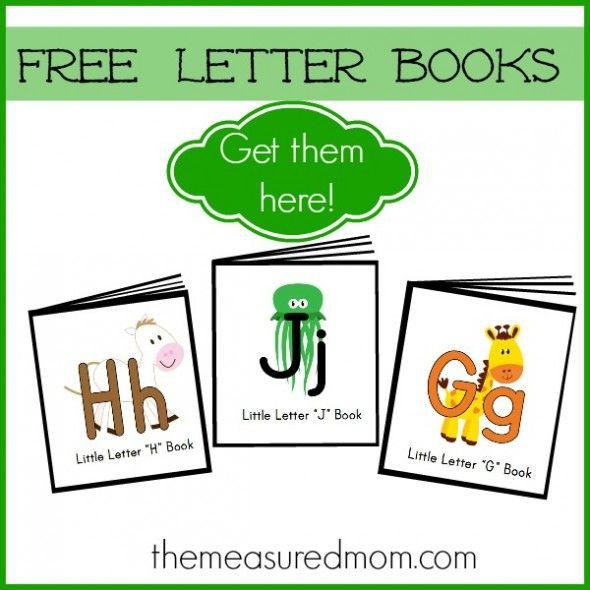Free Letter Books
