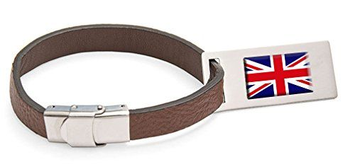 Luggage Tags Collections | Northern Ireland Flag Leather Luggage Tag Steel Engraved Text ** Click image to review more details. Note:It is Affiliate Link to Amazon.