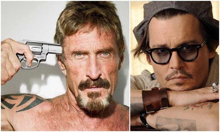 Johnny Depp To Play Anti-Virus Mogul John McAfee In Upcoming Movie! #JohnMcafee, #JohnnyDepp celebrityinsider.org #celebritynews #Movies #celebrityinsider #celebrities #celebrity #moviesnews
