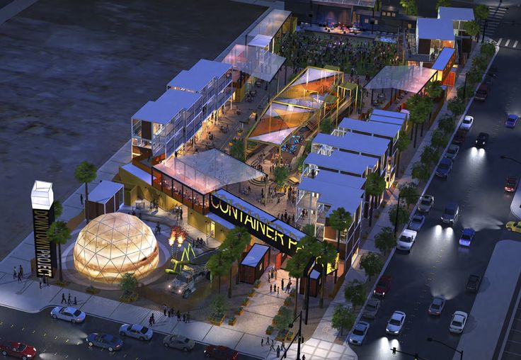 A shipping container park at Fremont and Seventh streets, the idea of Downtown Project and Zappos owner Tony Hsieh, won approval Wednesday from the Las Vegas City Council and is expected to open in 2013.
