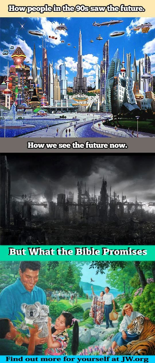 The Future. JW. Org. What does the future hold? Isaiah 25:8 He will swallow up death forever, And the Sovereign Lord Jehovah will wipe away the tears from all faces. The reproach of his people he will take away from all the earth, For Jehovah himself has spoken it. Psalm 37:11 But the meek will possess the earth, And they will find exquisite delight in the abundance of peace.