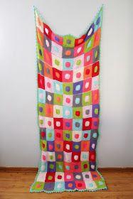 pigtails: Patchwork Blanket