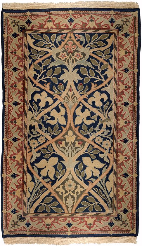17 best images about william morris on pinterest wool for Arts and crafts style rug
