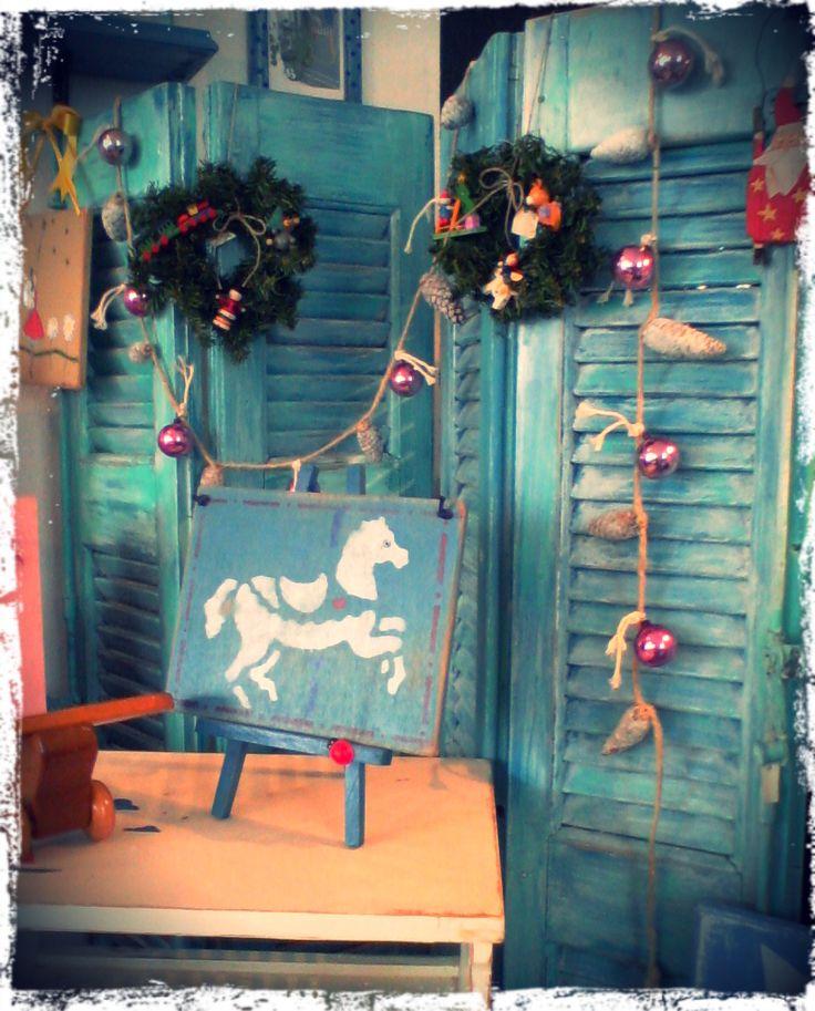 Christmas at Polina's Studio!!! Unique decoratios!!