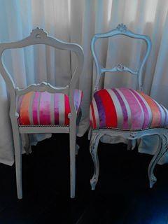 www.facebook.com/paintedfurnitureireland  Casamance French fabric