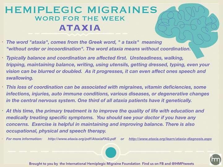 Best 25+ Hemiplegic migraine ideas on Pinterest   Migraine ...
