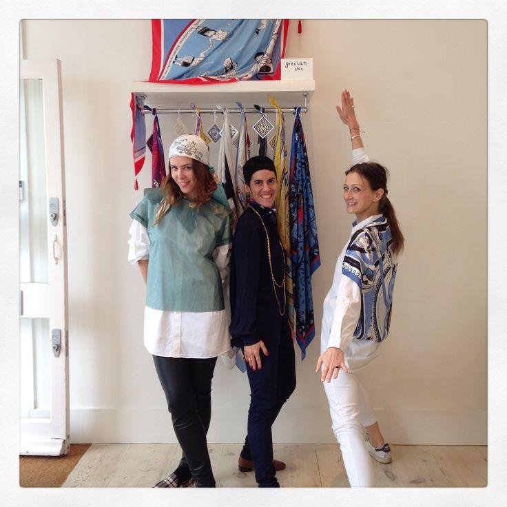 Grecian Chic girl with MONO girls! Thank you girls! <3