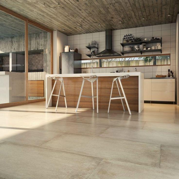 Porcelanato San Pietro Cemento Beige Satinado 53x106 1ra! - $ 400,79 en MercadoLibre