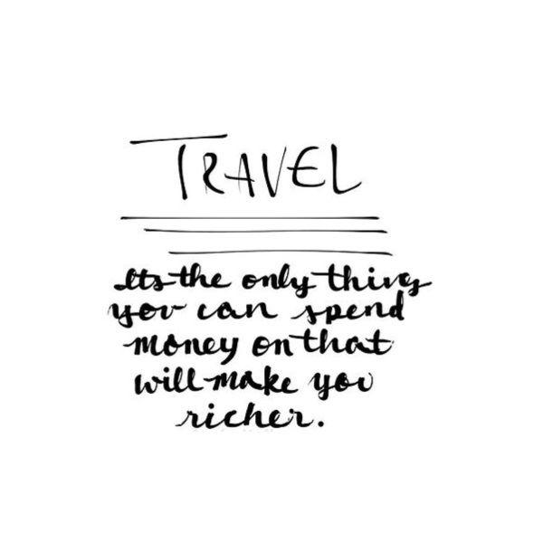 Love to travel - www.instawall.nl