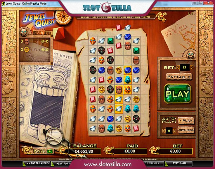 Jewel Quest free #slot_machine #game presented by www.Slotozilla.com - World's biggest source of #free_slots where you can play slots for fun, free of charge, instantly online (no download or registration required) . So, spin some reels at Slotozilla! Jewel Quest slots direct link: http://www.slotozilla.com/free-slots/jewel-quest