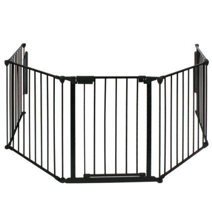 Infantastic® - Barrière de sécurité grille de protection pour enfants pour cheminée et escaliers - KSCG01-2 - longeur totale 3 mètres: Amazo...