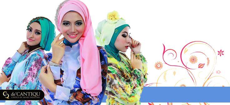 de'CantiQu Hijab in Bandung, Jawa Barat choice of smart moslems