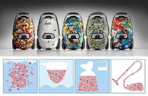 New destiny for the ocean's plastic debris.