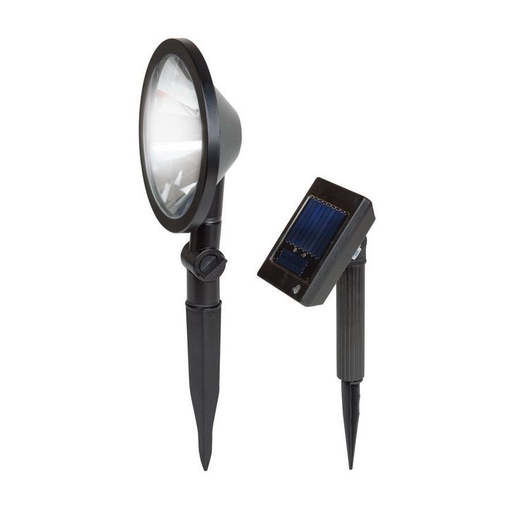 Shop Portfolio  Black Solar-Powered LED Flood Light at Lowe's Canada. Find our selection of solar landscape lights at the lowest price guaranteed with price match + 10% off.