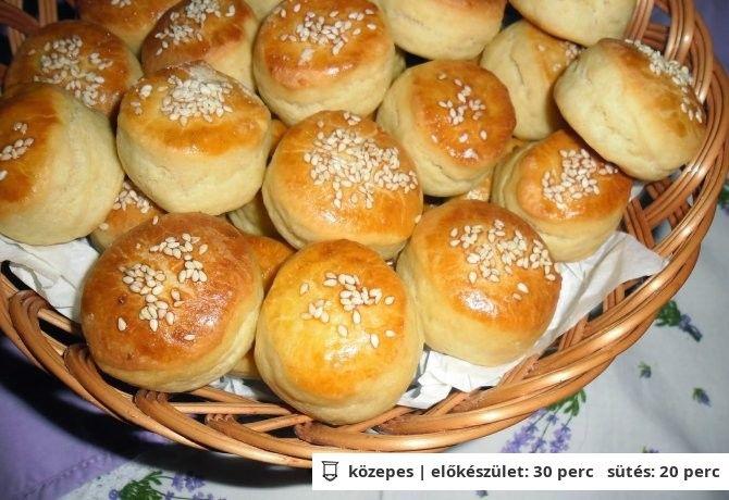Burgonyás-vajas pogácsa Mandulától - EL finom