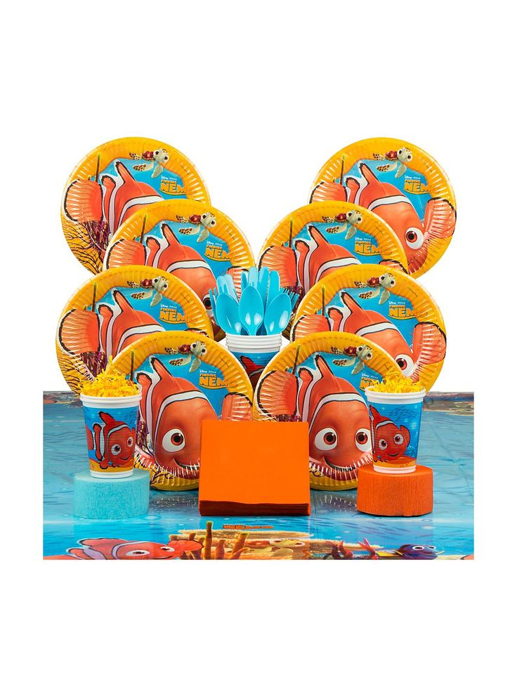 31 best images about finding nemo party ideas on pinterest for Nemo decorations