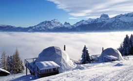 Whitepod Hotel ~ Lake Geneva:: A change of view
