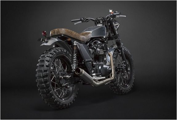'The Scrambler' by italian builders Moto Di Ferro