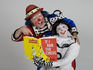 Ringling bros and barnum & bailey circus clowns will be around roanoke this week. Here's an article and their schedule. :)