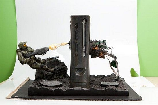 Halo Xbox360 console mod