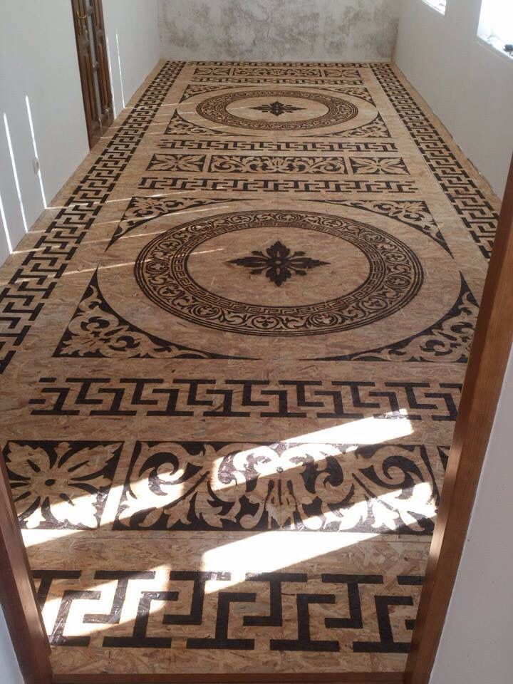 This is a pretty cool project....burning done on floor plywood!....