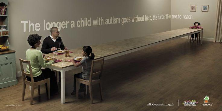 Социальная реклама об аутизме