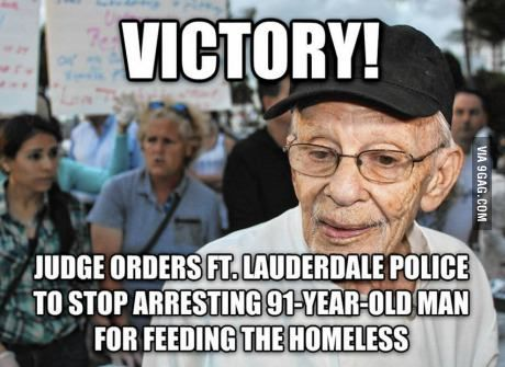 31 best homeless veterans images on pinterest homeless veterans a florida judge has ordered ft lauderdale police to stop arresting people for feeding the homeless last month veteran arnold abbott made national fandeluxe Choice Image