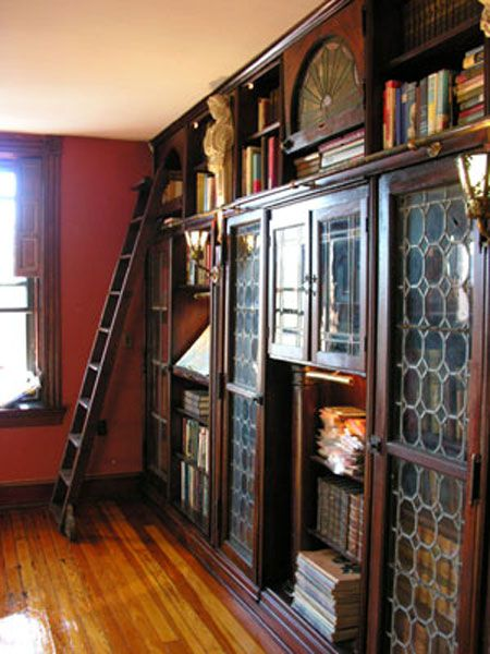 Oh my. This is so gorgeous!  House Love: see our Victorian library