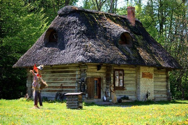 Kazimierz Dolny, Lublin region, Poland, historic village house