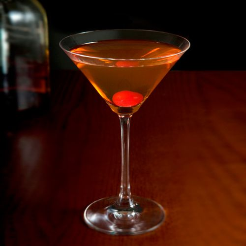 Jockey Club: This distant cousin of the Manhattan mixes bourbon with sweet vermouth and maraschino liqueur.