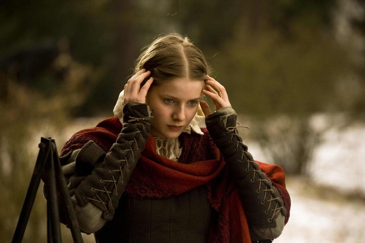 Rachel Hurd-Wood as Meredith Crowthorn in the film Solomon Kane (2009).