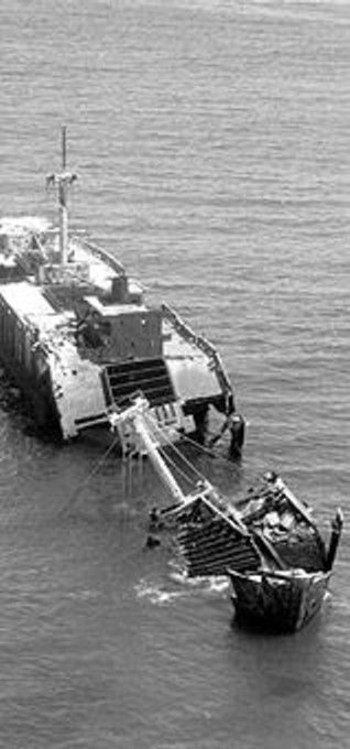 A brief history: The Alkimos was an Greek international ship that got stuck on reefs just off the shore north of Perth, Western Australia in 1963. After other several attempts of trying to rescue the ship and finally getting it to Fremantle for repairs, repairs were not not done due to owed money and a tow was organised to tow it to Hong Kong for urgent repairs.  On the way and only 50+km north of Perth the tow line broke and once again it got stuck on reefs. A successful attempt at pulling…