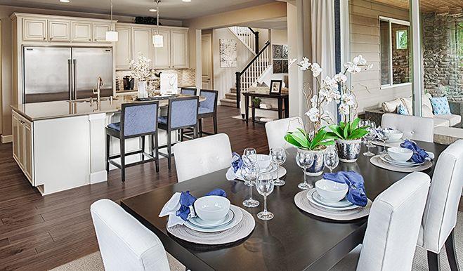 Hemingway-WAS-Nook/kitchen (blue) | Hemingway floor plan | Richmond American Homes | ,  |