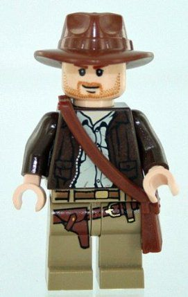 Lego Indiana Jones with Satchel & Hat by LEGO. $10.99. Satchel. Minifigure. Hat. Lego Indiana Jones