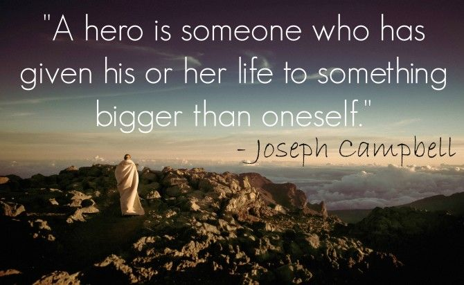 Quotable // from Joseph Campbell - KendraNicole.net