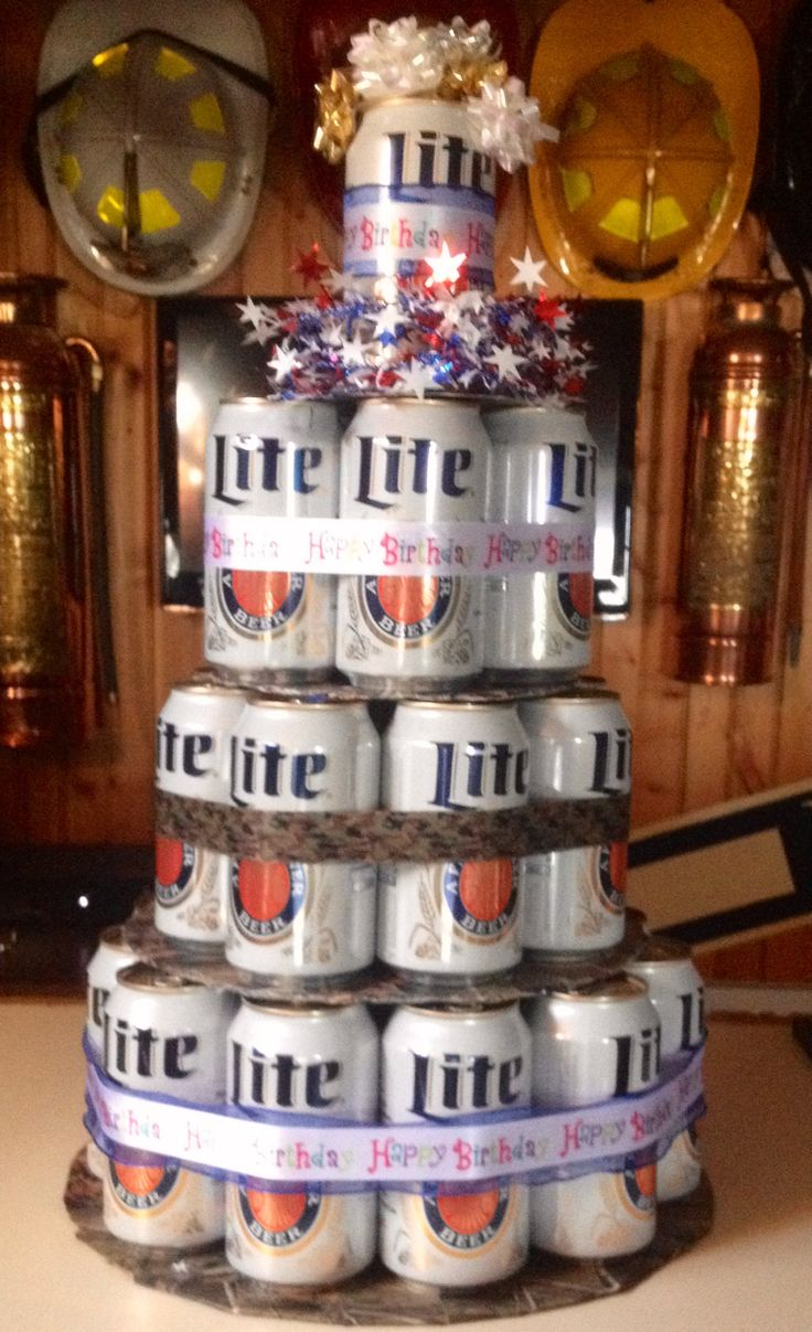 Miller Lite Birthday Cake Gift Ideas Pinterest