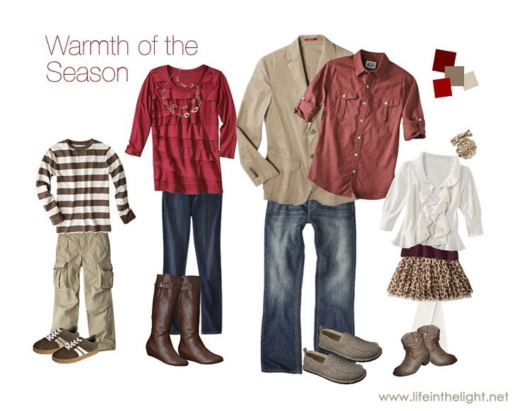 What To Wear For Family Photos | Clothing Ideas - JudithsFreshLook.com