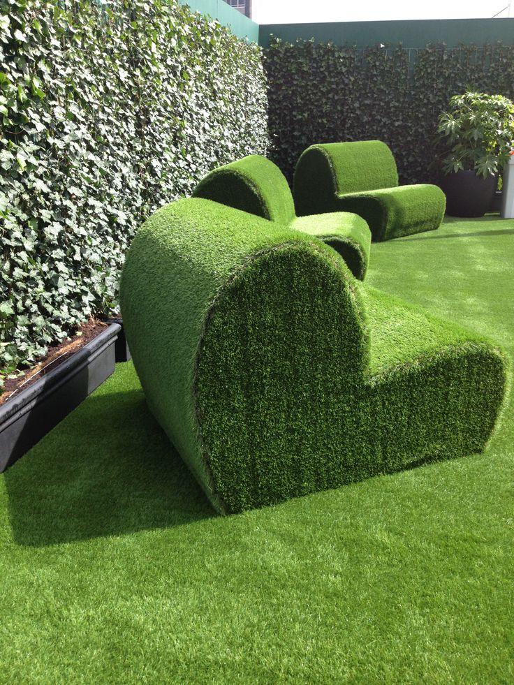 идея для газона в картинках